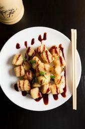 Dadinhos de Tofu + Lo Mein Shiitake + Baer Mate