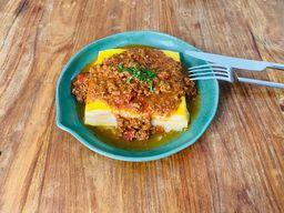 Lasagna queijo e presunto à Bolonhesa