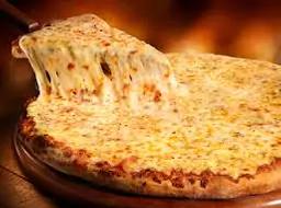 Pizza Mussarela + Guaraná