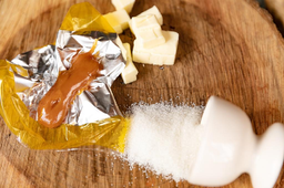 Caramelo Flor de Sal Zero Kit C/ 4 Unid