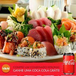 Keromai (30 peças) + Coca Cola Grátis