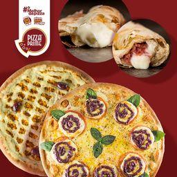 2 Pizzas + Bordas Recheadas