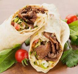 2 shawarmas pequenos