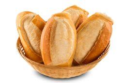 Pão Francês 4 unidades