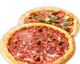 2 Pizzas com mega desconto