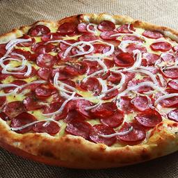 Combo pizza de calabresa + Brotinho
