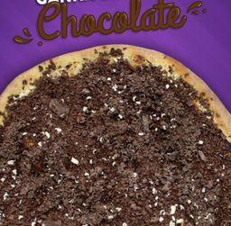 Pizza broto de chocolate 50% off