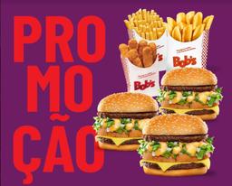 3 Big Bob + Palito M + Canoa M + Franlitos 6u
