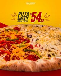 Pizza Gigante + Borda + Guaraná 2L