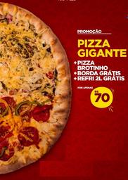 Super Combo Pizza gigante + Pizza Broto + Guaraná 2L