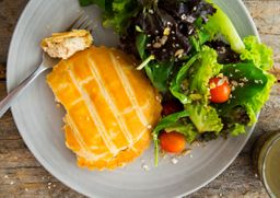 Combo Saladinha Orgânica Tortinha ou Quiche