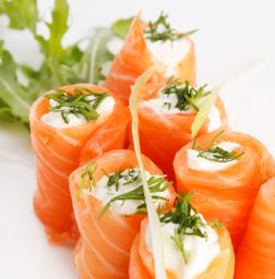 Sashimi salmão ice orion