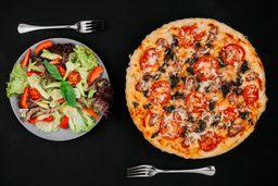 Pizza Broto + Salada