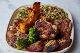Bowl Frango Desossado, Quinoa e Legumes