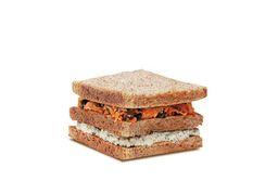 Sanduíche de Ricota com Cenoura e Passas