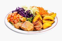Salada Executiva Tradicional frango