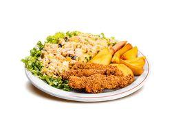 Salada Executiva Salpicão frango