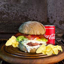 Combo Poró:  1 Be poró + 1 batata chips + 1 Coca-Cola 220ml