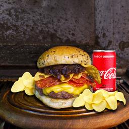 Combo Crock: 1 Be Crock + 1 batata chips + 1 Coca-Cola 220ml