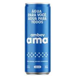 Agua Com Gas Ama 350Ml