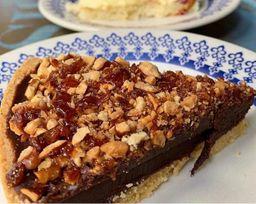 Torta de Gianduia com Chocolate