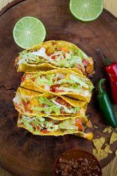 Crispy Tacos Vegetariano