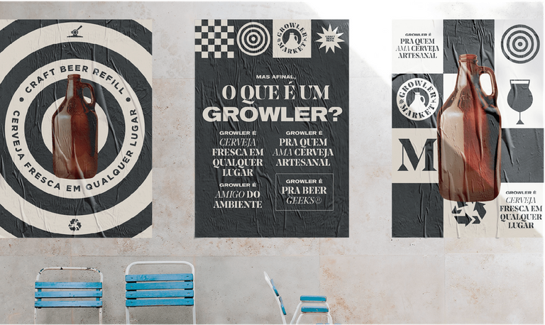 Logo Growler Market