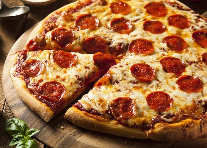 Logo Pizzaria Ruberto's