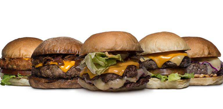 Logo Luz, Câmera, Burger!