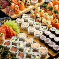 Gold Sushi por 1 Real