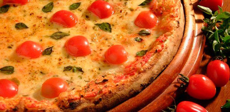 Logo Casa da Pizza
