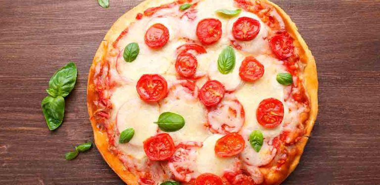 Logo Quero + Pizza
