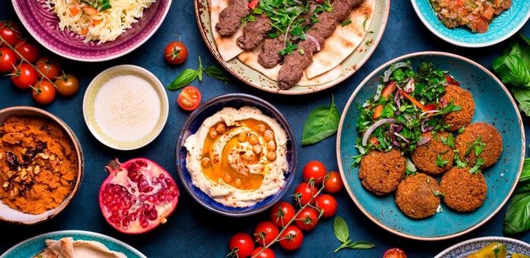 Logo  Latife - Gastronomia Árabe