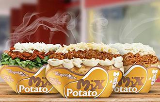 Logo Mix Potato Saúde
