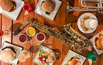 Logo Jazz Resto e Burgers