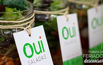 Logo Oui Saladas Vila Olimpia