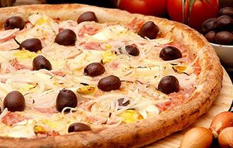Logo Pizzaria A Esperança (Itam Bibi)