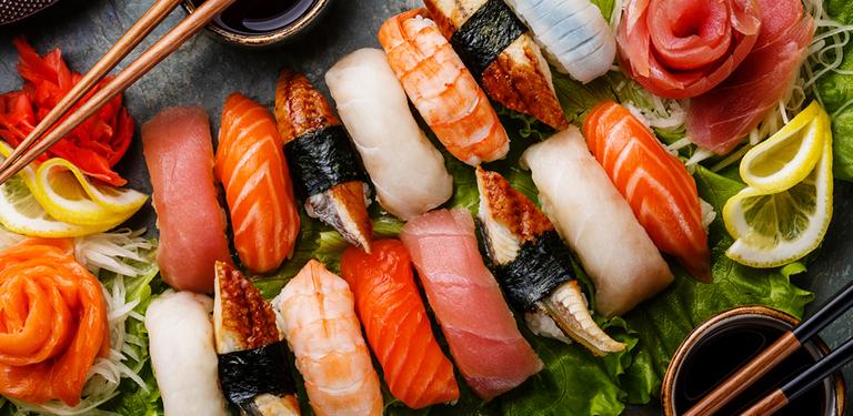 Logo Black Sushi
