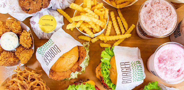 Logo Borger Burger