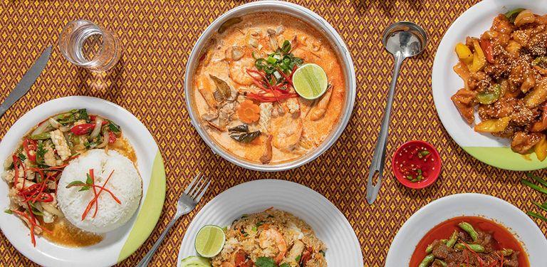 Logo Thai E-San Bar e Restaurante