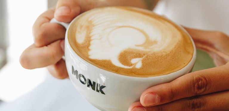 Logo Monk Coffee