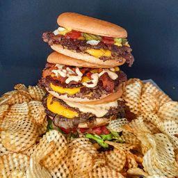 Double Trouble Burger