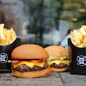 Logo Burger X