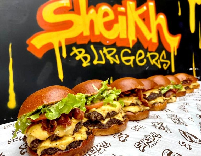 Logo Sheikh Burgers