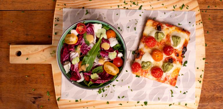 Logo Nuvola Pizza Romana & Insalata