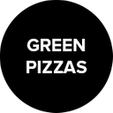 Green Pizzas background