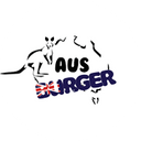 Aus Burger background