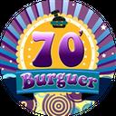 70'S Burguer background