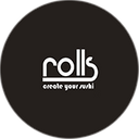 Rolls Poke Sushi background