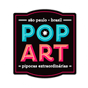 Pop Art Pipocas background
